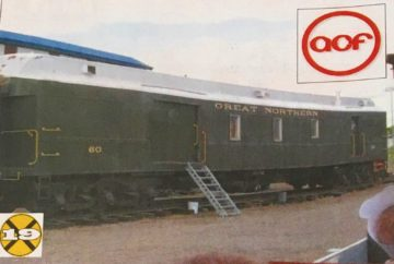 Railway Post Office Car 60